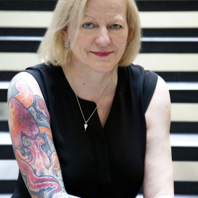 About tattoos, the Bloody Scotland Crime Writing Festival and thrillers: Alison Belsham