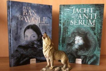 Speciale winactie: In de ban van de wolf & Jacht op het antiserum – Christine Charliers – GESLOTEN