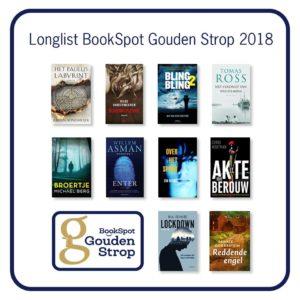 De longlist voor de Gouden Strop 2018 bekend!
