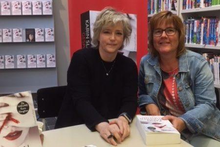 Signeersessie Karin Slaughter & beoordeling Gespleten