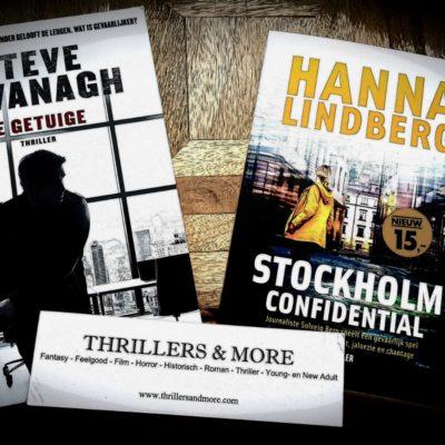 Winactie: De getuige – Steve Cavanagh & Stockholm confidential – Hanna Lindberg (5x) GESLOTEN