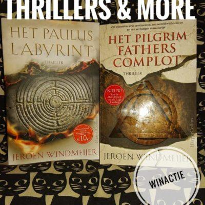 winactie: Het Pauluslabyrint en Het Pilgrim Fathers-complot – Jeroen Windmeijer (GESLOTEN)