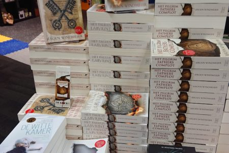 Boekpresentatie Het Pilgrim Fathers-complot