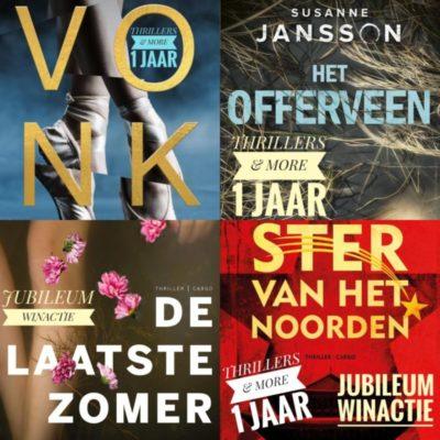 Winactie: boekenpakket Uitgeverij Cargo GESLOTEN
