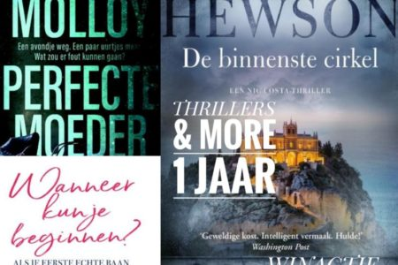 Winactie: een Thrillers & More-pakket van uitgeverij De Boekerij GESLOTEN