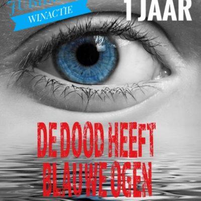 Winactie: De dood heeft blauwe ogen – Karin Hazendonk GESLOTEN