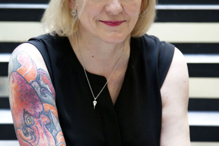 Over tattoo's, het Bloody Scotland Crime Writing Festival en thrillers: Alison Belsham