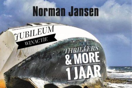 Winactie: een gesigneerd exemplaar van De stilte van het water van Norman Jansen GESLOTEN