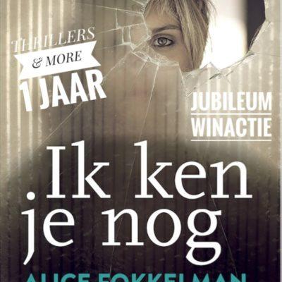 Winactie: Ik ken je nog – Alice Fokkelman GESLOTEN