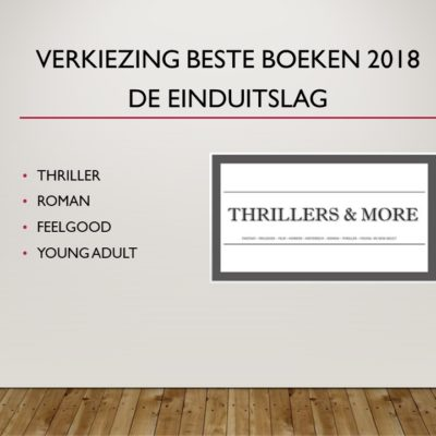 Thrillers & More Awards 2018 – de uitslag