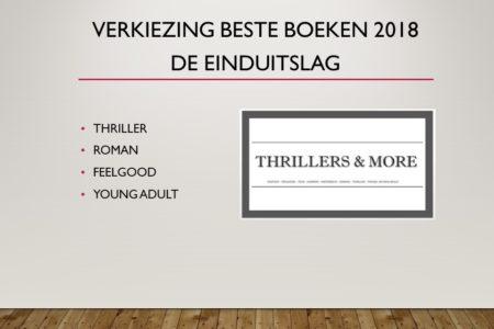 Thrillers & More Awards 2018 – de uitslag