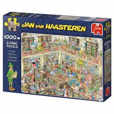 Winactie: De bibliotheek – Jan van Haasteren puzzel GESLOTEN