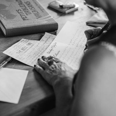 Schrijfjuffers: Over onzekerheid en doorzetten