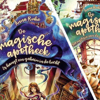 Winactie: De magische apotheek deel 1 & 2 – Anna Ruhe GESLOTEN