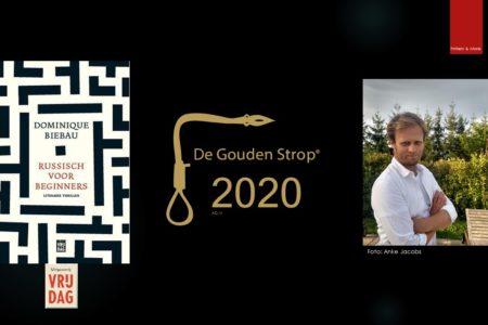 Winnaars Gouden Strop en Schaduwprijs 2020: Dominique Biebau & Bettie Elias