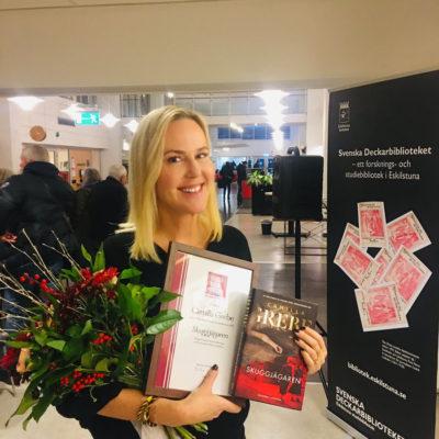Camilla Grebe wint opnieuw de Glass Key Award