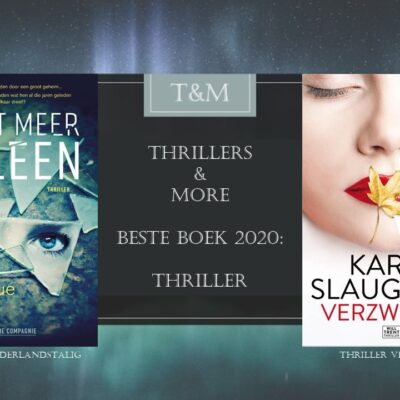 Thrillers & More Beste Boek 2020 Thriller