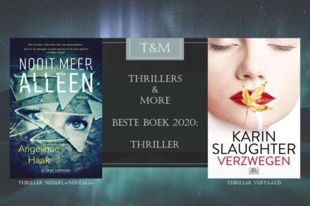 Thrillers & More Beste Boek 2020 Thriller